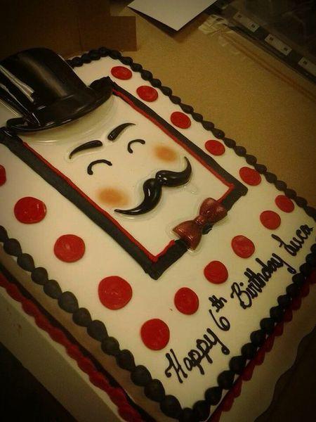 Cake Decorator Cake IDidThat Icing Mustache