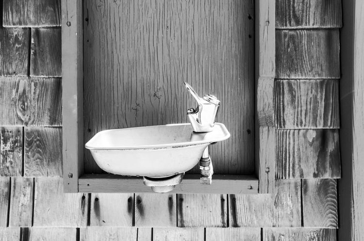 Blackandwhite Close-up Day Lifestyles Still Life Water Dispenser Wood - Material Wooden