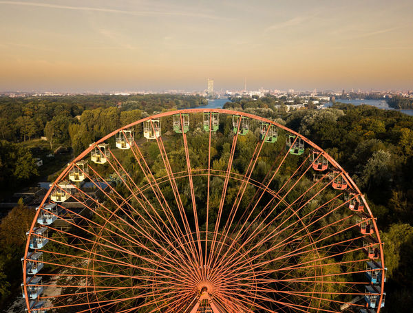 Berlin Spreepark Berlin Drone  Drones Spreepark Plänterwald Above Air Amusement Park Architecture Arts Culture And Entertainment Berliner Ansichten Building Exterior City Cityscape Day Drone Photography Dronephotography Droneshot Ferris Wheel Illuminated No People Outdoors Sky Spreepark Sunset Travel Destinations Discover Berlin Lost In The Landscape