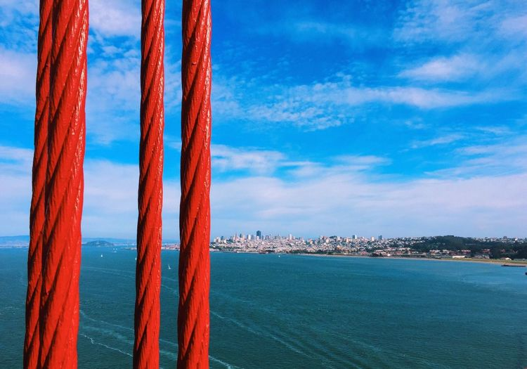 Travel Outdoors IPhoneography Perspectives San Francisco Skyline Holiday