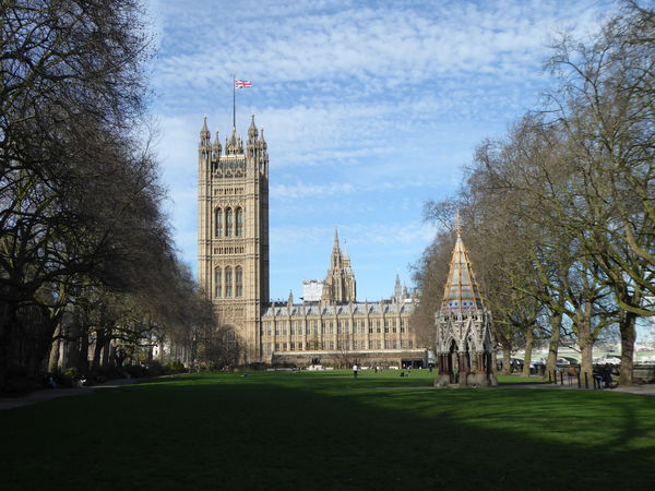 Architecture Brexit Brexit Vote British Flag British Politics Building Exterior Clock Tower Gothic Style Government History Houses Of Parliament London Outdoors Sky Tourism Travel Destinations Union Jack Flag Westminster