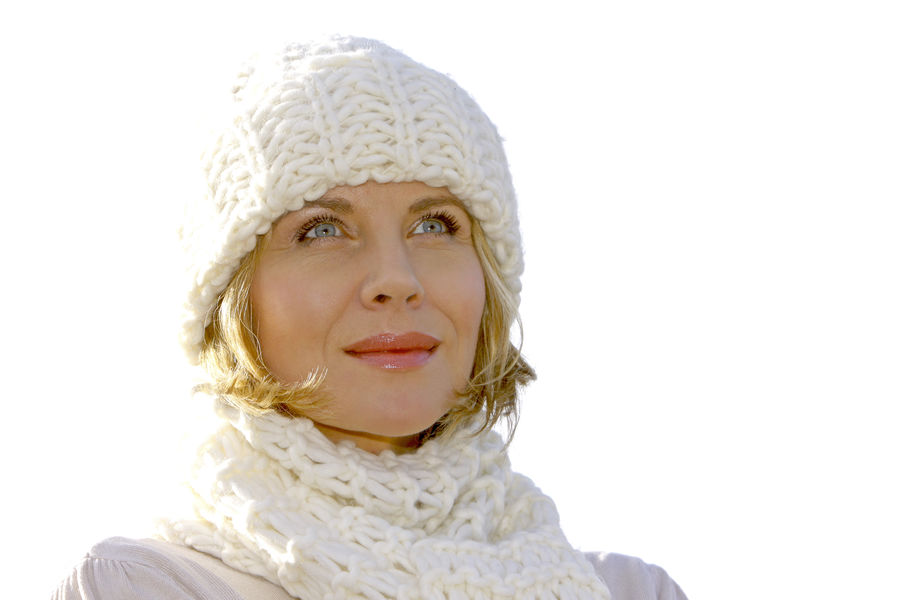 Blonde middle-aged woman on an autumn walk at the lake, portrait Autumn Walk Close-up Day Headshot Knit Hat Lake Lakeside Leisure Leisure Activity Lifestyles Middle Aged One Person Outdoors People Portrait Real People Warm Clothing White Background Winter Women Young Adult Young Women