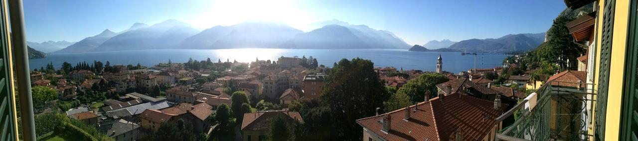 Lakecomo Italy Mountains SunlightLake View Lake