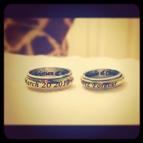 Our Promise Rings C: I Love My Boyfriend ❤