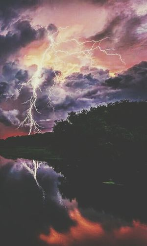 How's The Weather Today? Thunderstorm Getting Scared Impressive ⚡