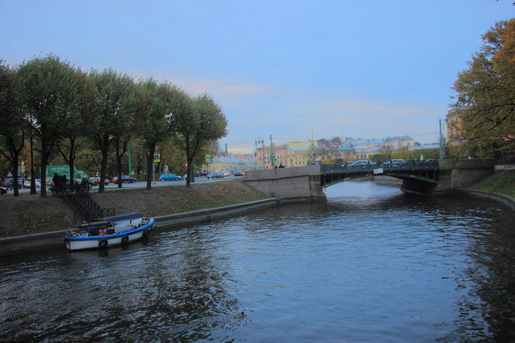 The Moika River and restored Sadovy Bridge that spans over it are one of Saint Petersburg's 342 bridges. Moika River Moyka River Russia Sadovy Bridge Saint Petersburg, Russia Saint-Petersburg Bridge - Man Made Structure City River Russian Travel Travel Destinations Water Садовый мост