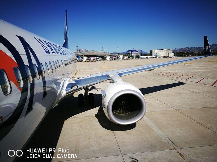 准备起飞。 Flying Airport Runway