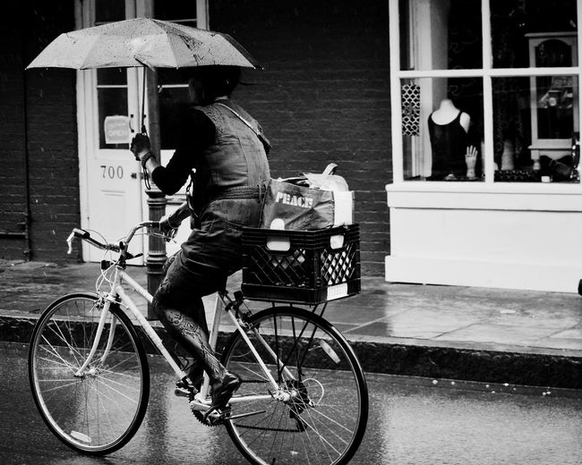 Bicycles riding bicycle