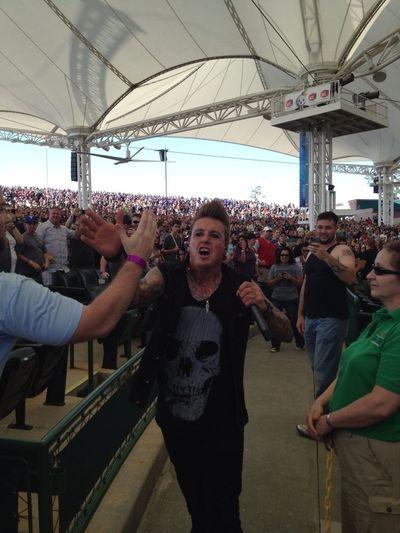 Jacoby of Papa Roach killing it BuzzFest XXX! #buzzfestxxx