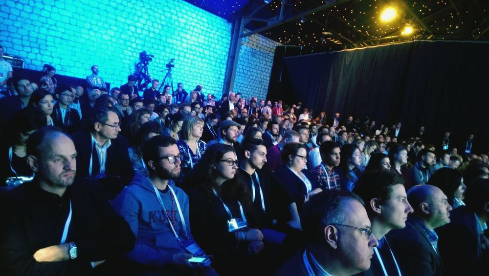 People at LeWeb following video advertising trends & big facts of the year.