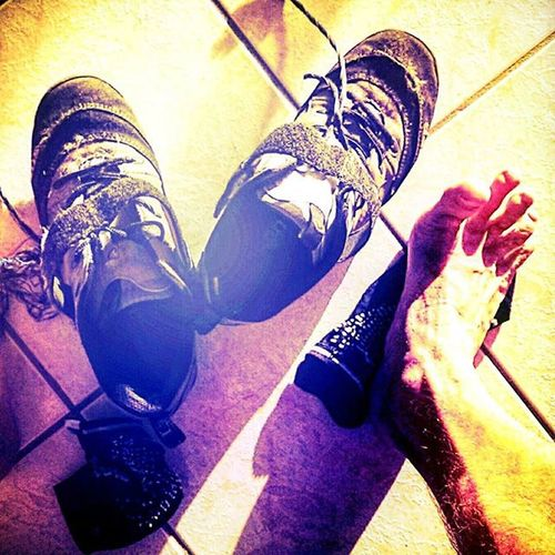 Ah the Sweet Glory of Stretching Toes after a day wedged tight into Cycling shoes . Cyclingshoes Shimano Feet Yogi Yoga Relief Bermuda Hamilton Islandlife Devilsisle Longsecondtoe