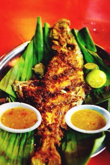 Sarawakian Grilled Sardine.. Food