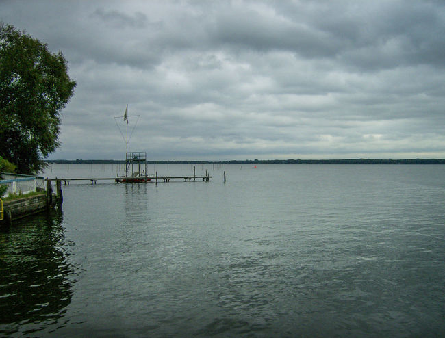 Beauty In Nature Berlin Berlino Cloud - Sky Day Deutschland Germania Germany Müggelsee Nature No People Outdoors Scenics Sea Sky Tranquil Scene Tranquility Tree Water