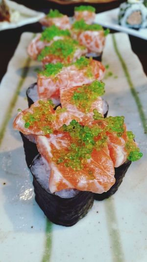 Salmon Mentai Foodgraphy Sushi Snap
