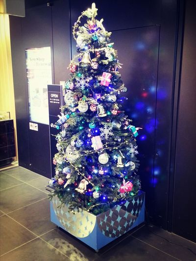 Christmas Tree Blue @tokyostation Japan