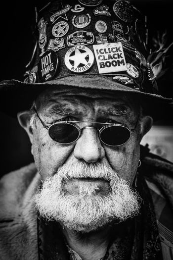 Doc. || Streetphotography Senior Adult Sunglasses One Person Real People Portrait Beard Senior Men Looking At Camera Front View Wisdom Lifestyles One Senior Man Only Cap Close-up Outdoors Day One Man Only Adult Street Portrait