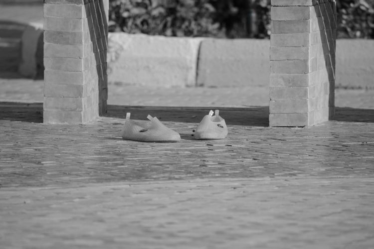 Plastic Sandels Sandels  Pastel Power Blackandwhite Mohammedia Casablanca Maroc Nikon D5200 Nikon Pair