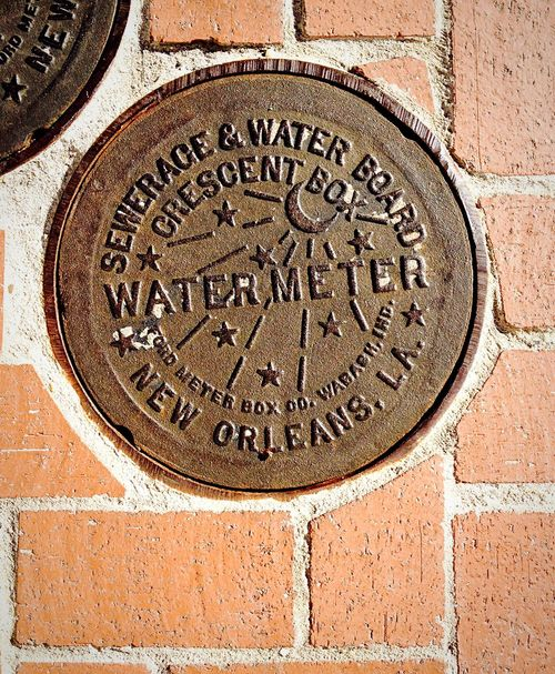 Water Meter Western Script Text Capital Letter Communication No People Day Close-up Outdoors Architecture