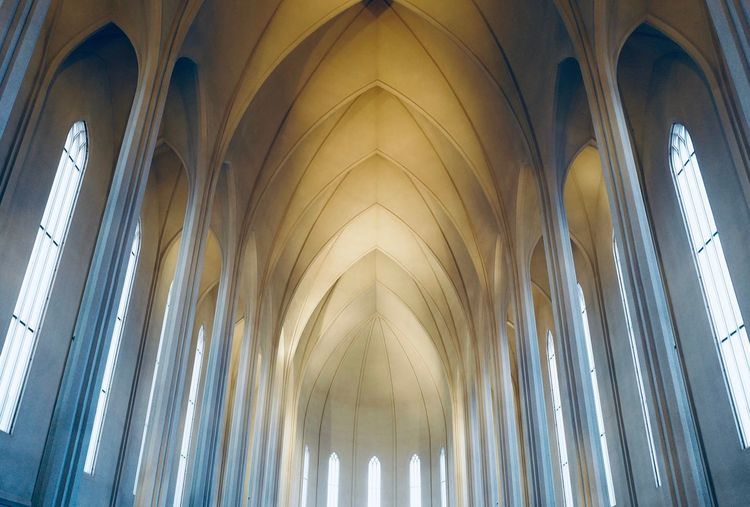 Simply grand Travel Photography Iceland Church Leicacamera Hallgrìmskirkja Architecture Built Structure Indoors  Building No People Religion Place Of Worship