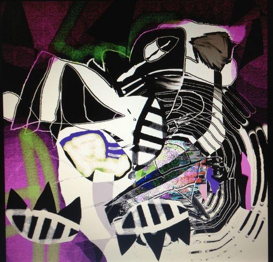 Digital painting by SAAD