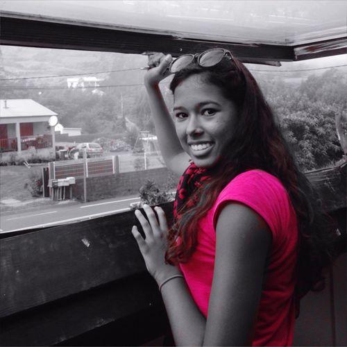 Dans les hauts de La Réunion Laplainedescafres Blackandwhite Colorsplash