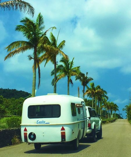 Island Camping Vinyl Summer Outdoor