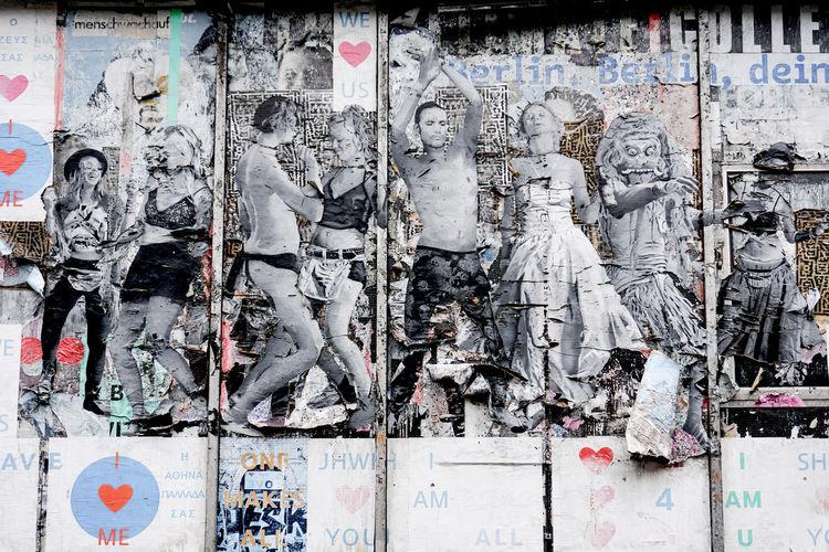 street art in Berlin Kreuzberg No People Day Graffiti Architecture Communication Wall - Building Feature Built Structure Berlin Kreuzberg Street Art Art Alternative