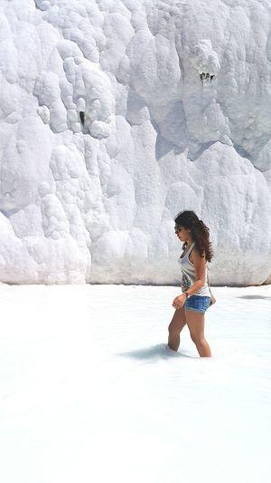 Pamukkale/Turkey Pamukkale Pamukkale Travertenleri Denizli Beyaz