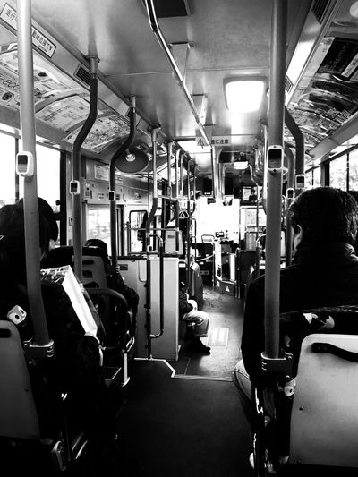Local bus in Tokyo. Tokyo Japan Blackandwhite Bus Local Bus Public Transportation