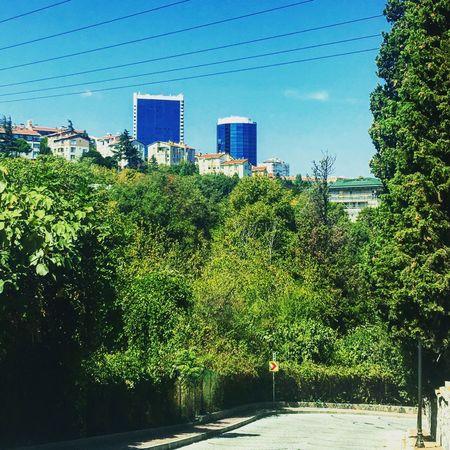 Day No People Blue Akmerkez Etiler Ulus First Eyeem Photo