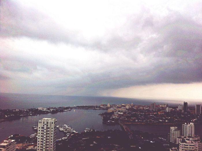 Sky City Rain