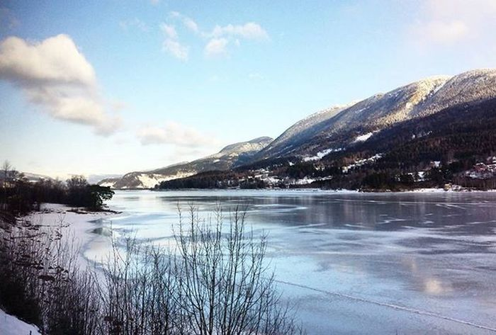 Norway Frozen Ice Fjordnorway Interrail2016 Interraileu Interrailing Interrailers Nursesonrail Neverstopexploring