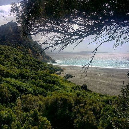 Nonza Trek Beach Maquis corsica corse