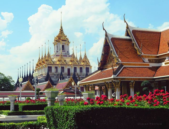 Thailand BangkokSoutheast Asia Everydayasia Spires Cityscape Streetphotography Travel Photography Architecture Thai Architecture Rooftop Thai Tradition Tranquil Scene Travel DestinationsThai Temple Thai Architecture Culture And Tradition Culture Temples
