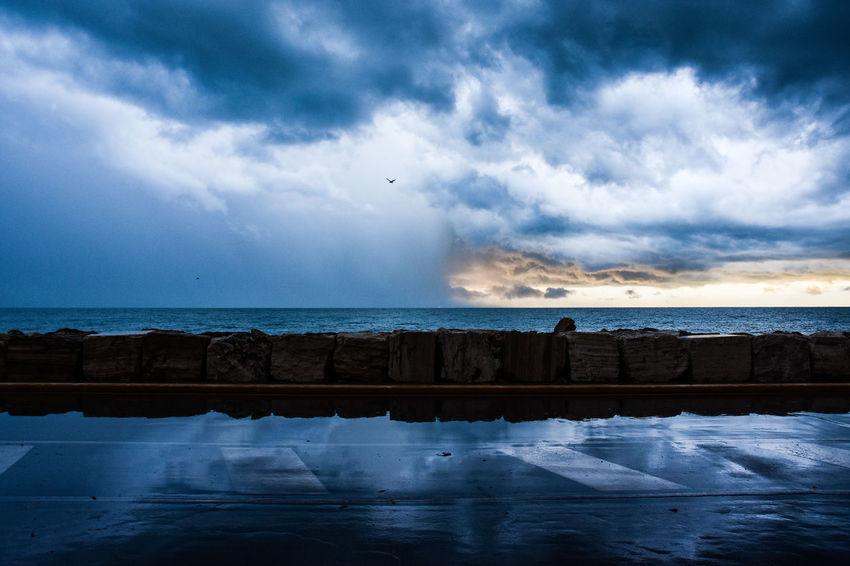Cloud - Sky Water Nature Sea Landscape Sunrise Adriatic Sea Italy