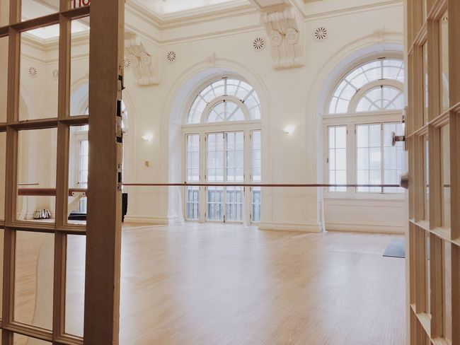 Ballet studio Ballet Class Dreamy Interior Old Building  Barre Class Barre Ballet Studio Window Architecture