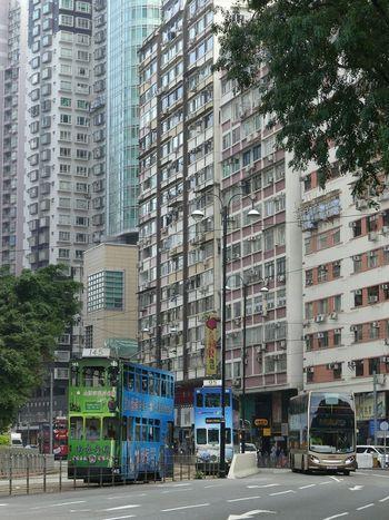 Buses in HongKong Transportation Travelphotography