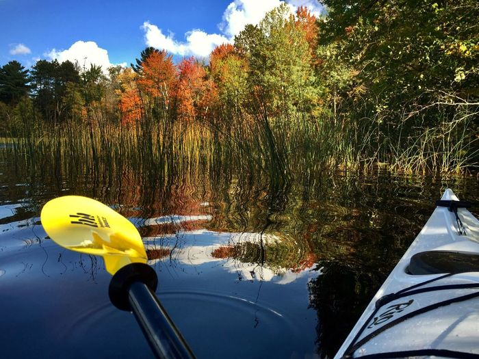 Northern Wisconsin Fall Color Kayaking