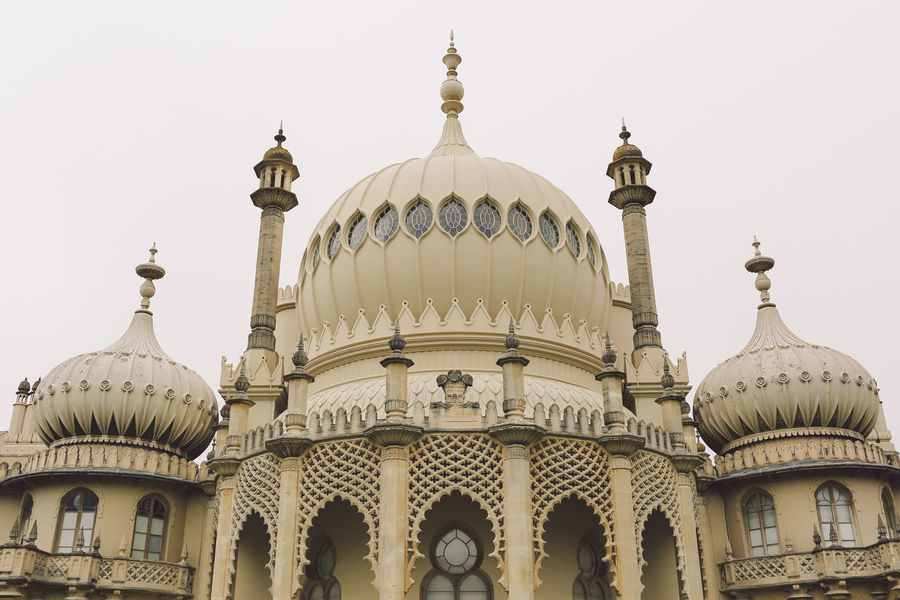 Arch Architectural Column Architectural Feature Architecture Brighton Built Structure Capital Cities  City Culture Day Dome Façade Famous Place High Section Low Angle View No People Ornate Outdoors Royal Pavilion Royal Pavilion Gardens Sky Tourism Travel Destinations