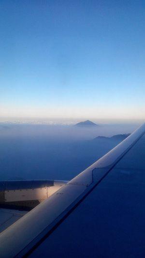 From The Plane Window Airasiaindonesia Bandung-denpasar