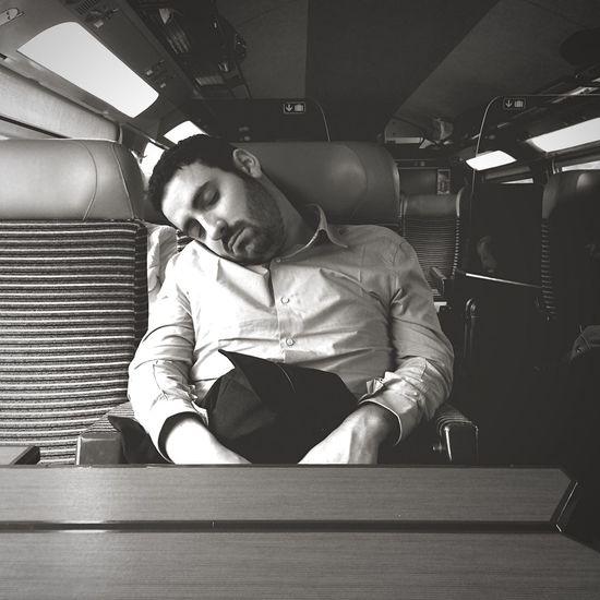 Tired Sleeping Man Portrait Blackandwhite Black & White Black&white Perspective