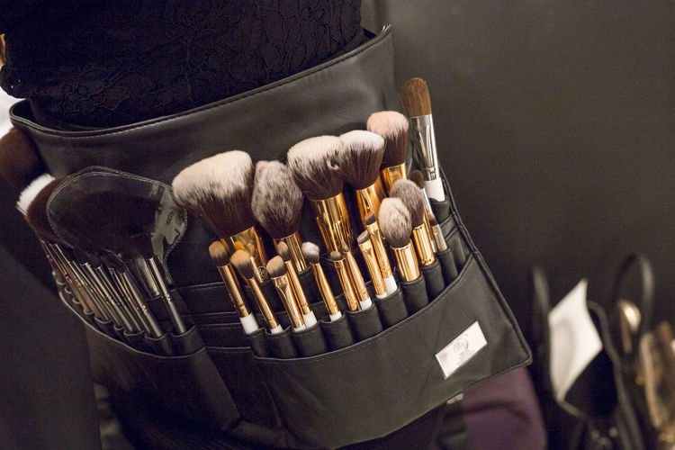 Makeup Workshop Arrangement Choice Close-up Collection Container Day Focus On Foreground Group Group Of Objects High Angle View Indoors  Large Group Of Objects Make Up Artist Make-up Make-up Brush No People Preparation  Still Life Table Tools Toolset Variation