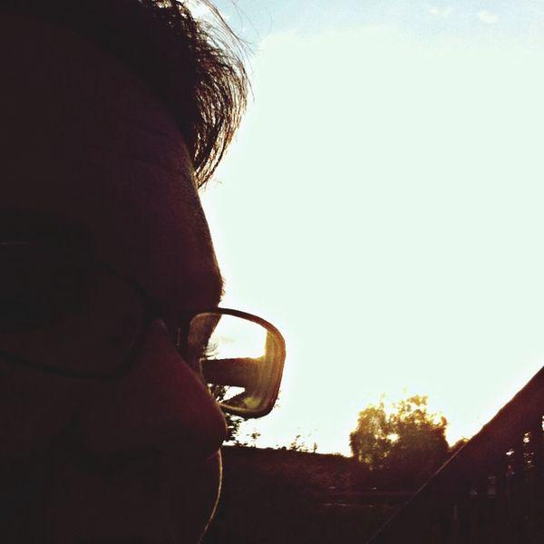 Enjoying Life in the evening Sun !