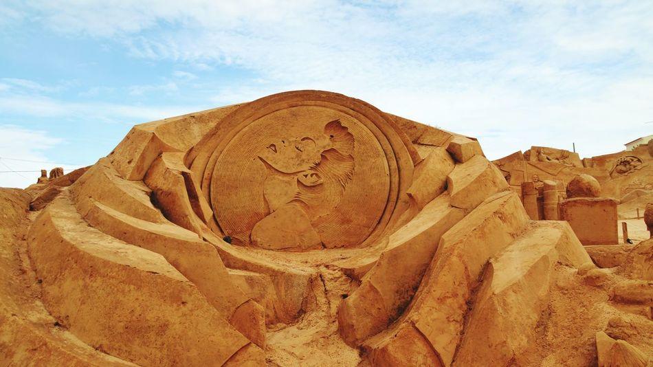 Sand Sculpture Sand Sculpture Park Madonna