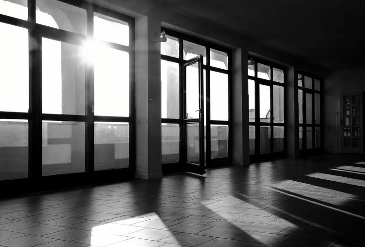 shadows Ombre City Window Home Interior Architecture Parquet Floor