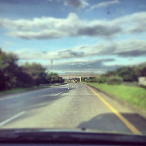 #highway #morning #sun #photography