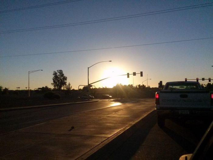 Endofday Sunset Errands Arizonasunsetsarethebest