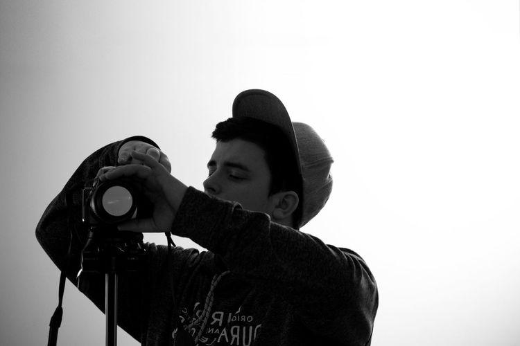 Selfie Portrait Selfieportrait Selfiesaturday Person Behind The Lens Behind The Camera Mirror Black & White Outdoors Summer