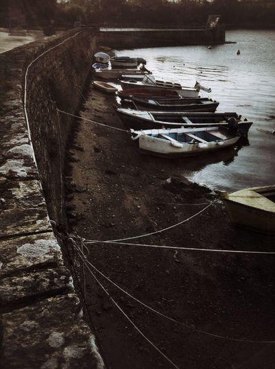 boats at morbihan gulfe Boats
