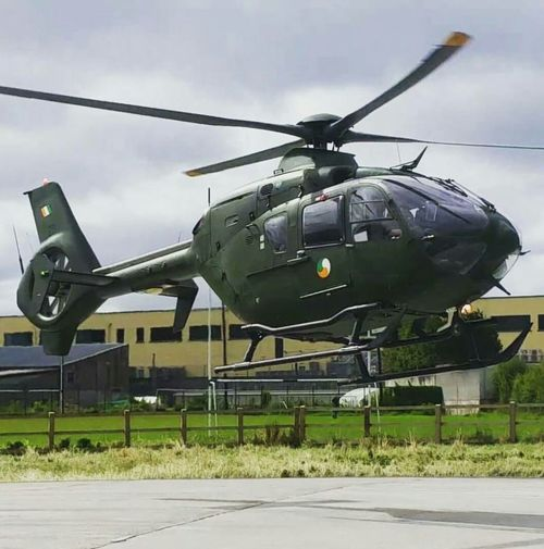 Galway,ireland Military Helicopter Aerospace Industry Outdoors Air Ambulance  Ec135 Airbus Irish Military